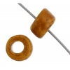 Ceramic Bead Cylinder 6X4mm Ochre
